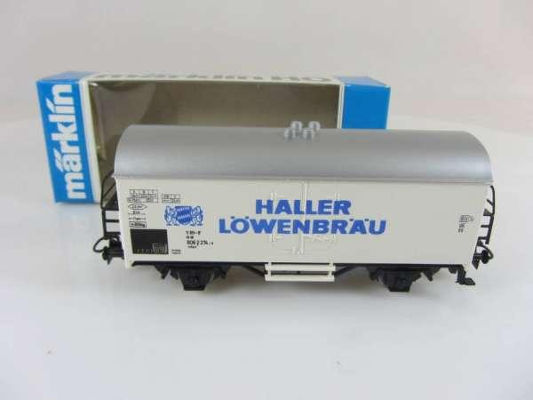 Basis 4415 Bierwagen Haller Löwenbräu, Sondermodell mit OVP