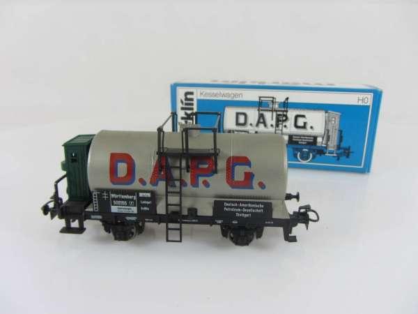 Märklin 4674 Kesselwagen D.A.P.G. Würtemberg gebraucht und mit OVP