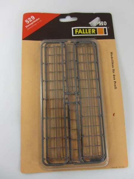 Faller 529 Bausatz Eisengeländer 1:87 ungebaut mit Verpackung