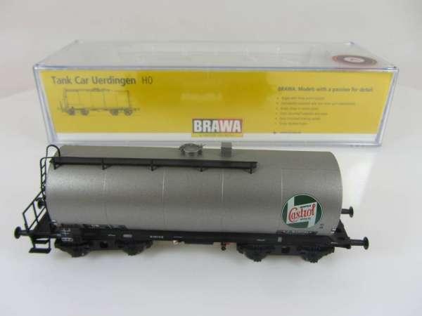 BRAWA 48918 4-achsiger Kesselwagen Castrol Sonderserie Neuwertig und mit OVP