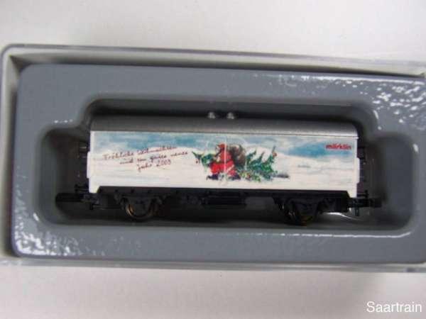 Märklin 8600 Kühlwagen Sondermodell Weihnachtswagen 2002 für Mitarbeiter OVP