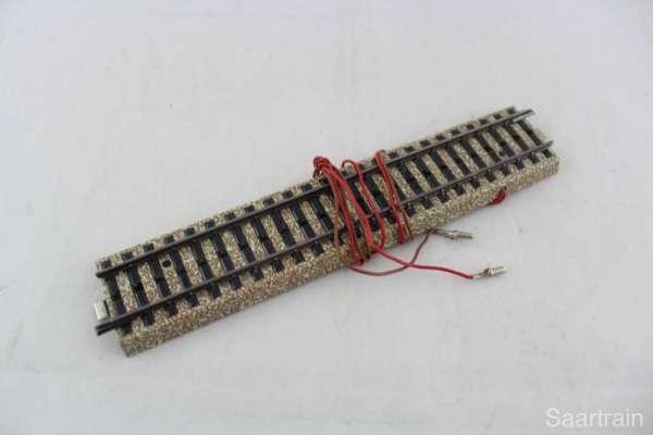 Märklin 5131 Anschluß M-Gleis mit Kondensator, gebraucht guter Zustand, ohne Verpackung