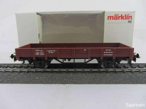 Märklin 4423 Flachwagen der DB braun Neuwertig und mit Originalverpackung