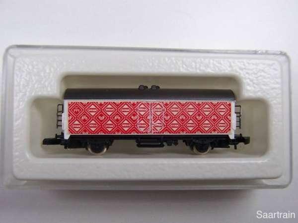 Märklin 8600 Kühlwagen Sondermodell Märklin Club USA rote Aufschrift mit Box