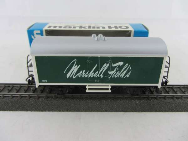 Märklin Basis 4415 Werbewagen Marshall Field's, grün, USA Sondermodell mit OVP