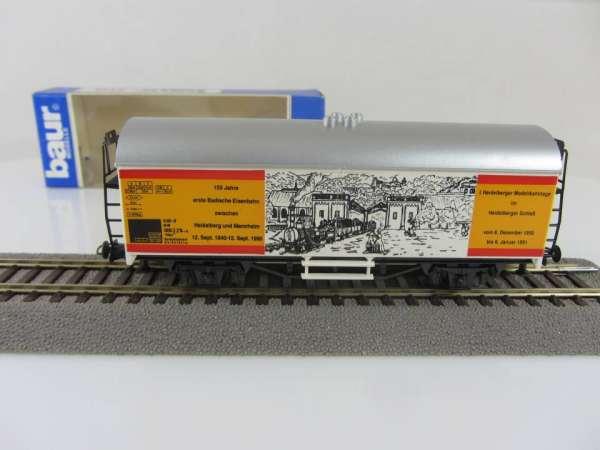 Baur HO Kühlwagen Heidelberger Modellbahntage mit Verpackung