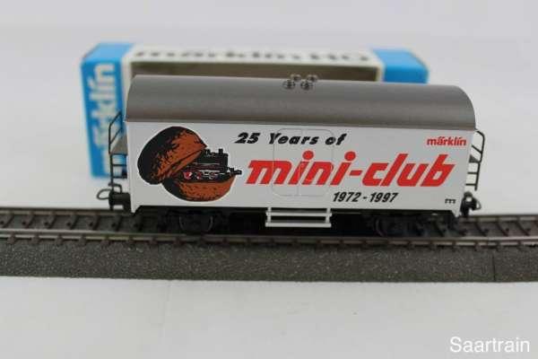 """Märklin 4415 Werbewagen """"25 Jahre Mini-Club"""" Sondermodell mit Verpackung"""
