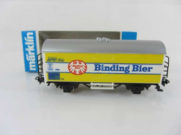 Märklin Basis 4415 Bierwagen Binding Bier Sondermodell neuwertig mit OVP