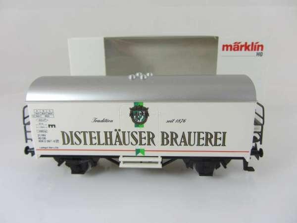 Märklin 4415 Bierwagen Distelhäuser Brauerei Sondermodell neuwertig mit Verpackung