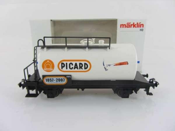 Märklin Basis 4440 Kesselwagen PICARD Sondermodell neuwertig und mit OVP