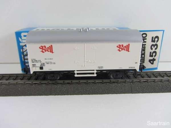 Märklin 4535 Kühlwagen Bell SBB Schweiz neuwertig und mit Originalverpackung