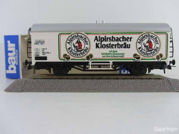 Baur Nr. 107 HO Bierwagen Alpirsbacher Klosterbräu Neu mit Originalverpackung