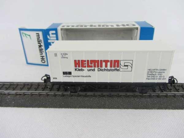 Märklin Basis 4481 Containerwagen Sondermodell Helmitin Pirmasens mit OVP