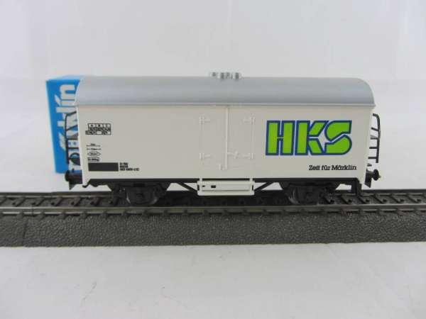 Märklin Basis 4415 Werbewagen HKS, Zeit für Märklin, Sondermodell, neu und mit OVP