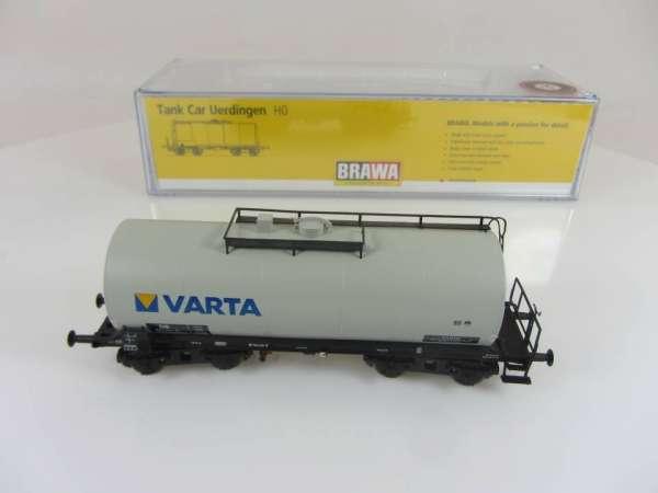BRAWA 48913 4-achsiger Kesselwagen Varta Sonderserie Neuwertig und mit OVP