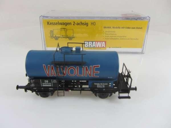 BRAWA 48871 2-achsiger Kesselwagen Valvoline Sonderserie Neuwertig und mit OVP