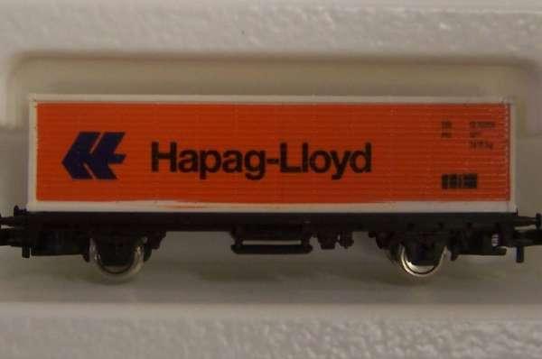 8615 Containerwagen Sondermodell Hapag Lloyd orange mit Originalverpackung