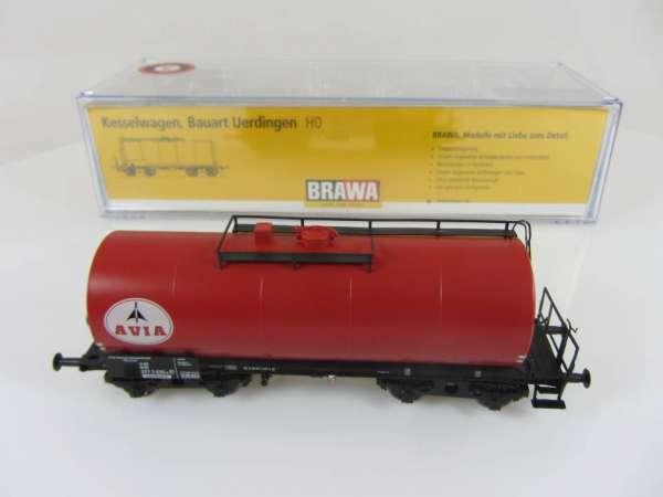 BRAWA 48910 4-achsiger Kesselwagen AVIA Sonderserie Neuwertig und mit OVP
