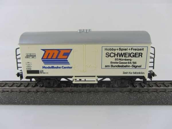 Märklin Basis 4415 Kühlwagen MC Schweiger SOMO gebraucht ohne Verpackung
