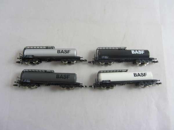8626 Kesselwagen 4 achsig Sondermodell BASF 4 verschiedene ohne Verpackung