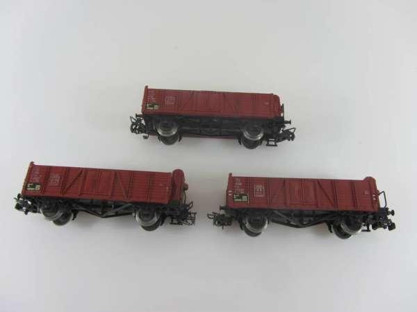 Märklin 4601 offener Güterwagen (3 Stück,II) gebraucht, ohne Verpackung