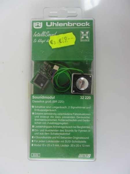 Uhlenbrock 32220 Soundmodul (Decoder mit Lautsprecher) neu und originalverpackt