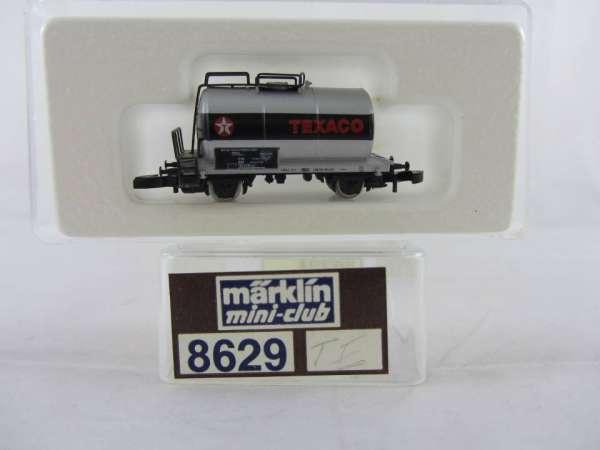 Märklin 8629 Kesselwagen TEXACO 2-achsig sehr guter Zustand mit Verpackung