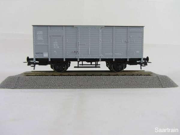 Basis ROCO G10 Güterwagen grau mit Beschriftung CFL Neu und mit Verpackung