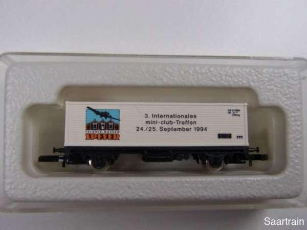 Märklin 8615 Containerwagen 3. Z Treffen Speyer / OPEL Ausstellung 1994 mit OVP