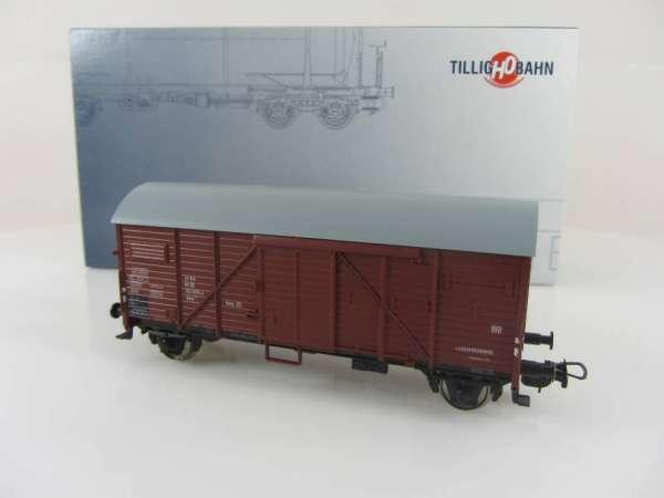 Tillig 76601 gedeckter Güterwagen der DB, neuwertig mit Verpackung