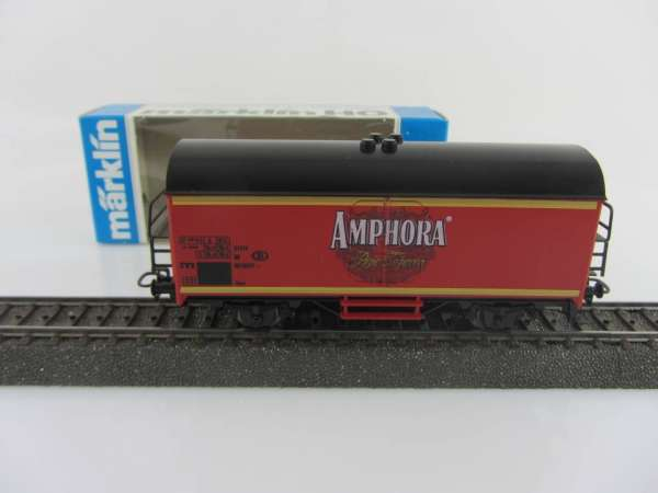 Märklin Basis 4415 Werbewagen Amphora Tobacco Belgien, Sondermodell mit OVP
