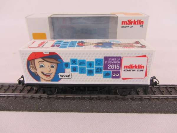 Märklin 48615 1.FC Märklin Jahreswagen 2015 Containerwagen Neu und mit OVP