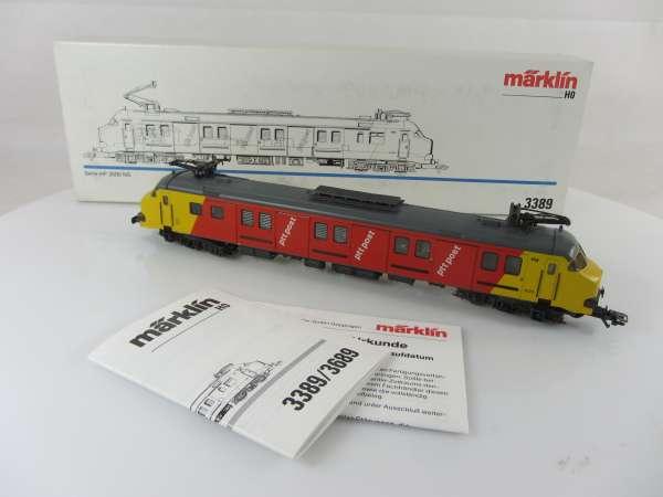 Märklin 3389 Serie mP 3000 Triebwagen der NS rot gelb Holland neu und mit OVP