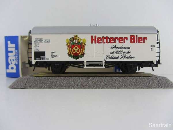 Baur Nr. 158 HO Bierwagen Ketterer Bier weiß Neu mit Originalverpackung