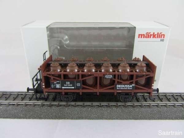 Märklin Insiderwagen 2012 48162 DEGUSSA Säuretopfwagen mit Originalverpackung