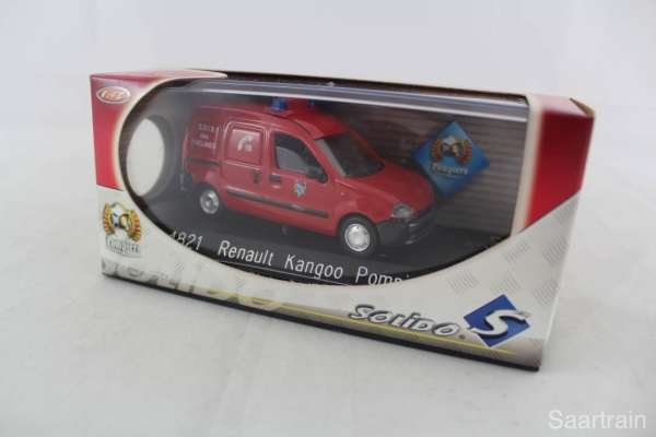 1:43 Solido 4821 Renault Kangoo Feuerwehr Sapeurs Pompiers