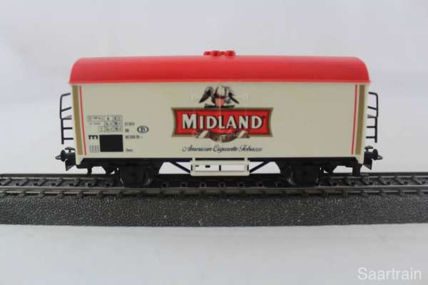 Märklin Basis 4415 Werbewagen Midland Tabac Sondermodell gebraucht