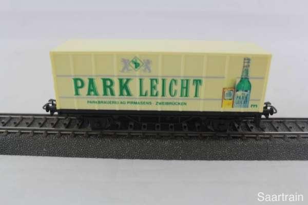 Märklin Basis 4481 Containerwagen Park Leicht Bier gebraucht ohne Verpackung