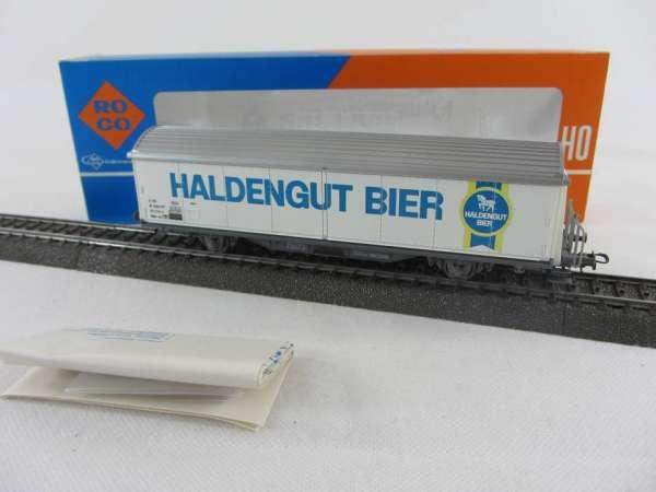 ROCO 4340 D SBB Habis Bierwagen Haldengut, AC-Achsen, sehr guter Zustand mit OVP