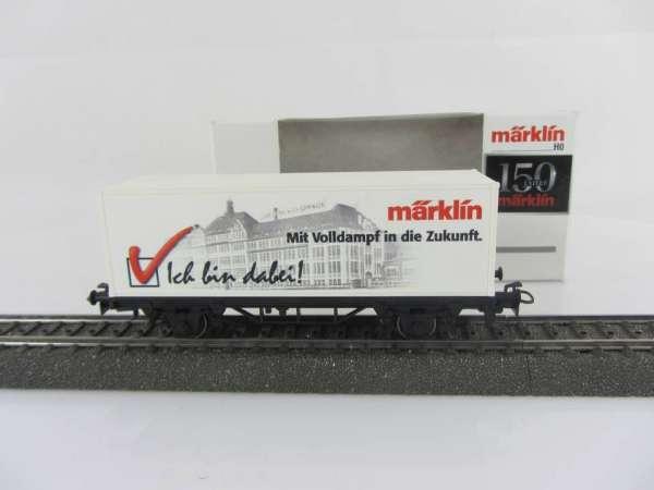 Märklin 44150 Containerwagen Ich bin dabei, neuwertig und mit Originalverpackung