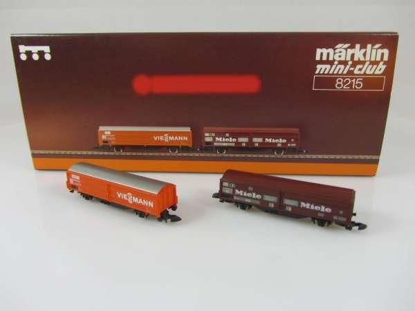 Märklin 8215 Wagenset Miele / Viessmann neuwertig und mit originalverpackung