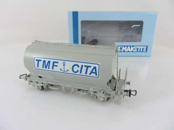 """Makette 4609 Getreidewagen """"T.M.F"""" der SNCF, neuwertig mit Verpackung"""