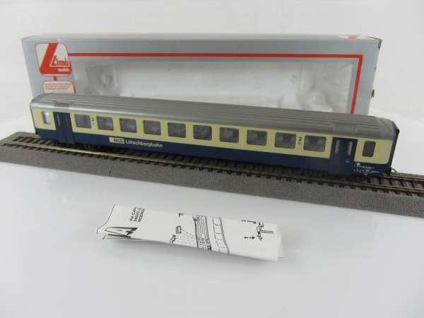 Lima 309669K BLS Personenwagen 2. Klasse, blau-beige, guter Zustand mit OVP