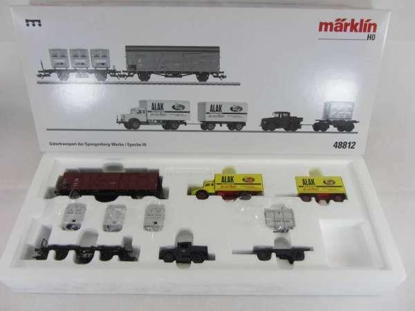 Märklin 48812 Güterwagenset / Epoche III Spangenberg-Werke mit OVP