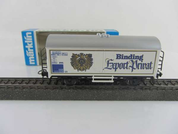 Märklin Basis 4415 Bierwagen Binding Export Privat mit OVP SOMO