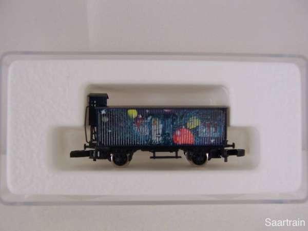Märklin 8661 G10 mit Bremserhaus Weihnachtswagen 1997 mit Verpackung 80607