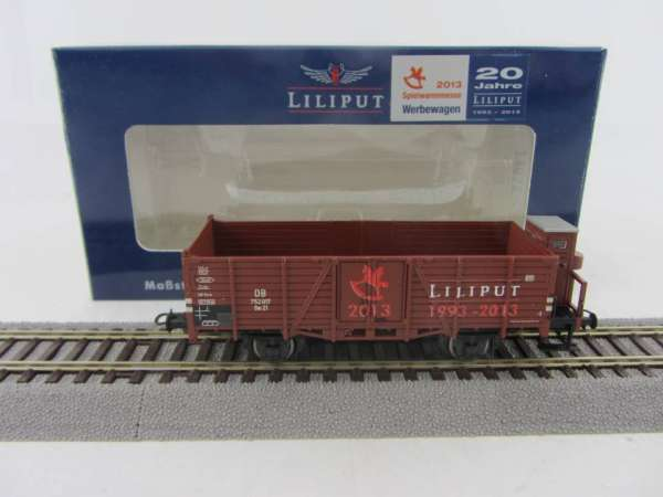 LILIPUT 235022 2-achsiger Güterwagen Spielwarenmesse 2013 Sonderserie Neu-Zust. OVP