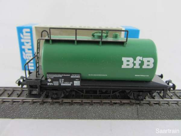 Märklin Basis 4440 Kesselwagen BFB Brantwein grün Sondermodell Neu mit OVP