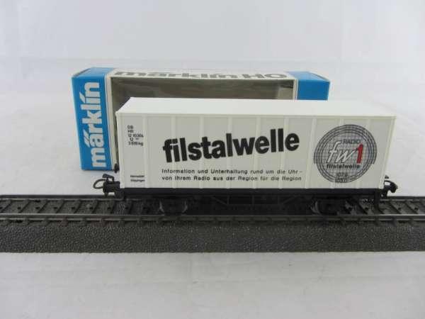 Basis 4481 Containerwagen Filstalwelle mit Verpackung
