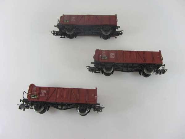 Märklin 4601 offener Güterwagen (3 Stück, III) gebraucht, ohne Verpackung